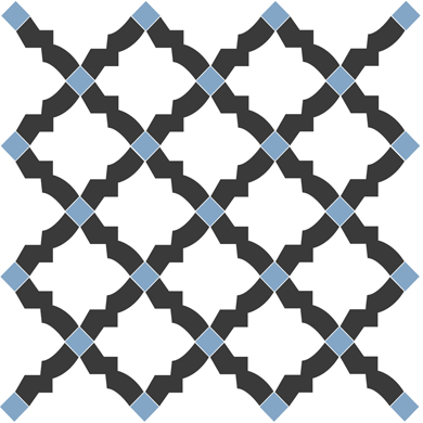 denise weiss grau blau fliesenaufkleber set wand akzente. Black Bedroom Furniture Sets. Home Design Ideas
