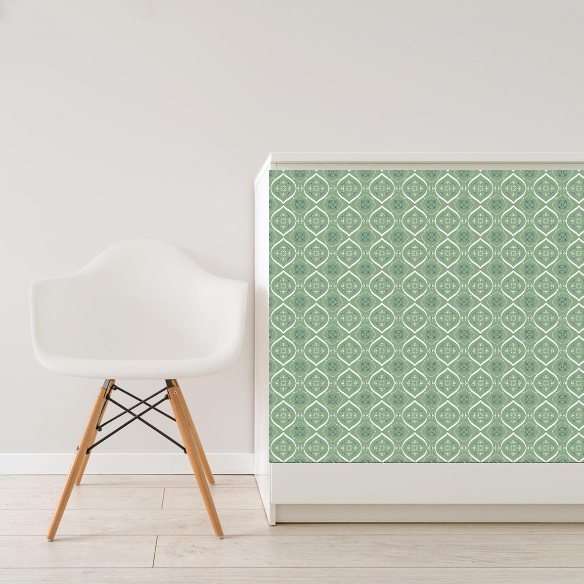 delhi gruen selbstklebefolie wand akzente. Black Bedroom Furniture Sets. Home Design Ideas